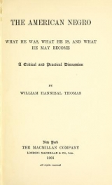 Cover of The American Negro