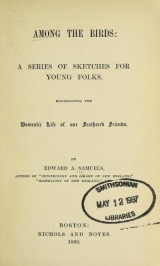 Cover of Among the birds