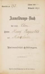 Cover of Anmeldungs-Buch