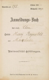 Cover of Anmeldungs-Buch