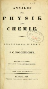 Cover of Annalen der Physik