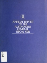 Cover of Annual report of the Postmaster General 1978