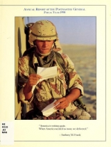 Cover of Annual report of the Postmaster General 1990