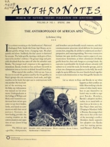 Cover of Anthro notes