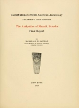 Cover of The antiquities of Manabi, Ecuador
