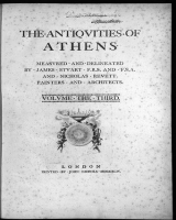Cover of The antiqvities of Athens