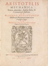 Cover of Aristotelis Mechanica