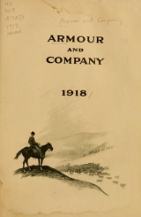 Cover of Armour and Company, 1918