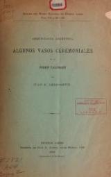 Cover of Arqueología argentina