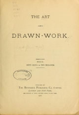 Cover of The art of drawn work
