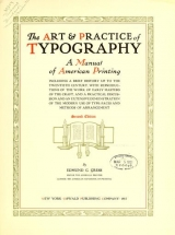 Cover of The art & practice of typography
