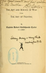Cover of The art and science of war versus the art of fighting