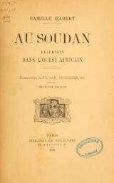 Cover of Au Soudan