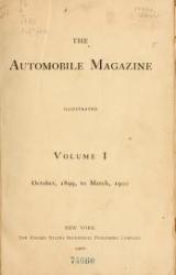 Cover of The Automobile magazine