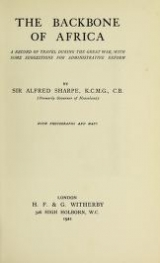 Cover of The backbone of Africa