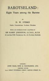 Cover of Barotseland