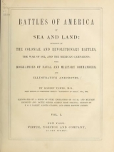 Cover of Battles of America by sea and land