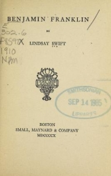 Cover of Benjamin Franklin