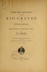 Cover of Über die Capverden nach dem Rio Grande und Futah-Djallon