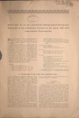 Cover of Bericht über die von den schwedischen Hydrographisch-Biologischen Kommission in den schwedischen Gewässern in den Jahren 1909-1910 eingesammelten Pl