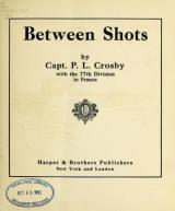 Cover of Between shots