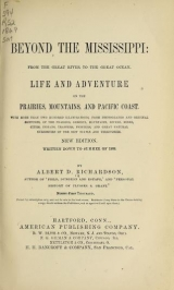 Cover of Beyond the Mississippi