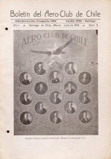 Cover of Boletil® del Aero-Club de Chile