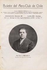 Cover of Boletil del Aero-Club de Chile