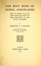 Cover of The boys' book of model aeroplanes