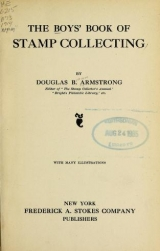 Cover of The boys' book of stamp collecting