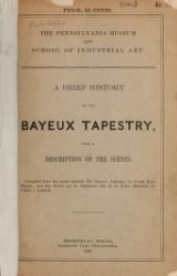 Cover of A Brief history of the Bayeux tapestry with a description of the scenes