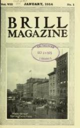 """Cover of """"Brill magazine"""""""