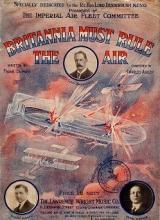 "Cover of ""Britannia must rule the air"""