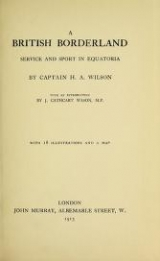 Cover of A British borderland