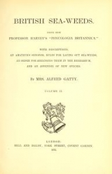 """Cover of """"British sea-weeds : drawn from Professor Harvey's """"Phycologia Britannica"""" ... /"""""""