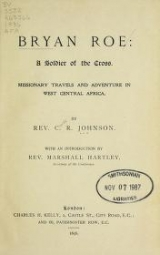 Cover of Bryan Roe