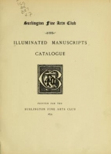 Cover of Burlington club catalogues, 1868-1896