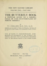 Cover of The butterfly book