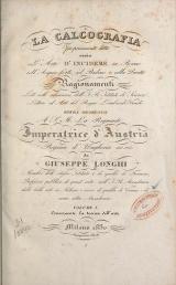 Cover of La calcografia propriamente detta