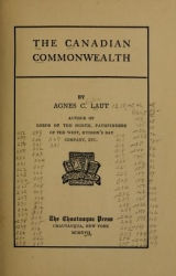 Cover of The Canadian commonwealth