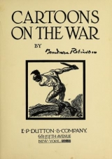 Cover of Cartoons on the war