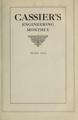 """Cover of """"Cassier's engineering monthly"""""""