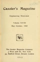 Cover of Cassier's magazine