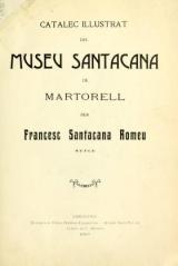 Cover of Catalec illustrat del Museu Santacana de Martorell