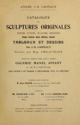 Cover of Catalogue de sculptures originales