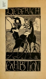 """Cover of """"Catalogue of the first American exhibition of sculpture by Hunt Diederich"""""""