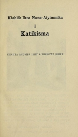 Cover of A catechism of the Catholic religion