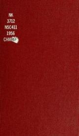 Cover of Ceramics, 1956