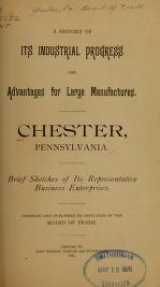 Cover of Chester, Pennsylvania