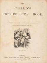 Cover of The child's picture scrap book